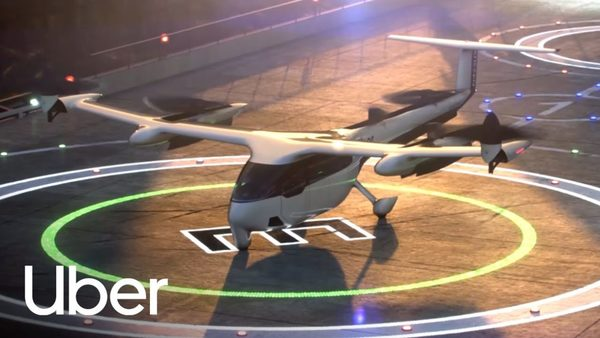 Uber shows off its latest concept for air taxis; FAA chief hits hard on safety issue