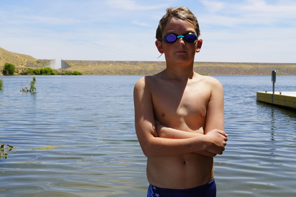 At 12 years old, Los Banos native keeps breaking records in the water | abc30.com