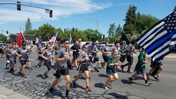 Special Olympics Torch Runs in the Valley | KMPH