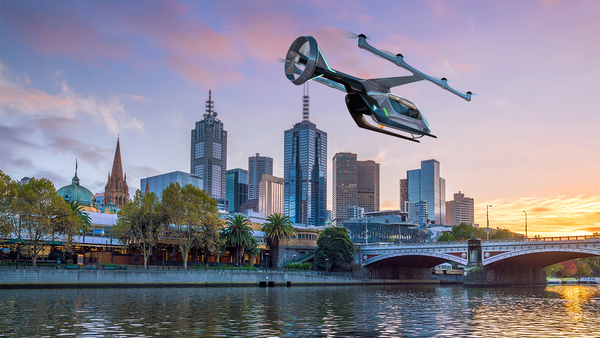 Uber announces Melbourne, Australia as first international Uber Air pilot city