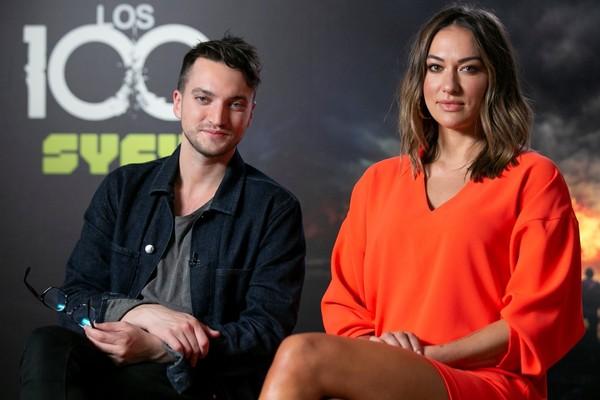 ENTREVISTA | Richard Harmon y Tasya Teles saben que 'Los 100' es especial