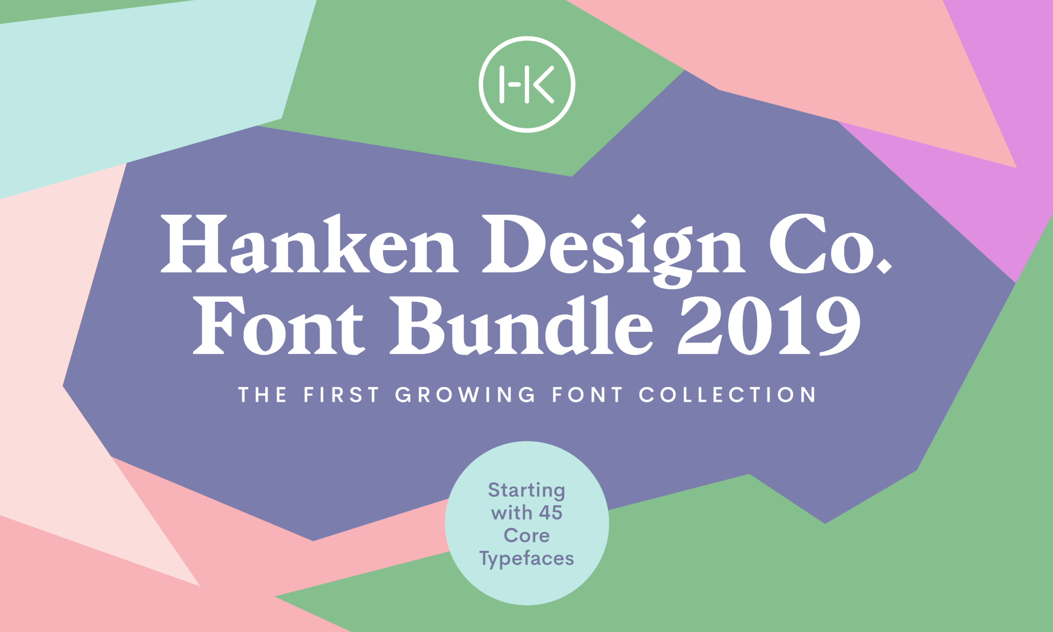 A bundle of 45 families from Hanken Design is available for only $120