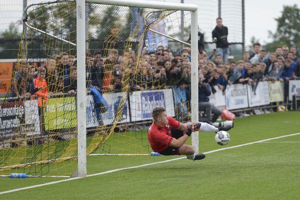 Net als vorig seizoen hield Lekkerkerk in de nacompetitiefinale Bergambacht van promotie af.