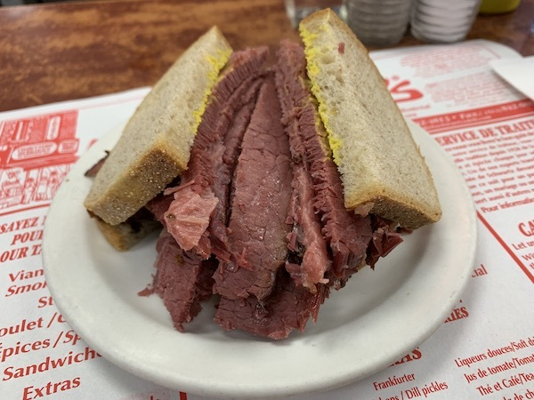 My dad has been telling me about the Montreal smoke meat sandwich since I was born, the only thing he rembers about Montreal - but I'm happy to report that the actual product did NOT disappoint and neither did the poutine or bagels. Definitely a foodies delight.