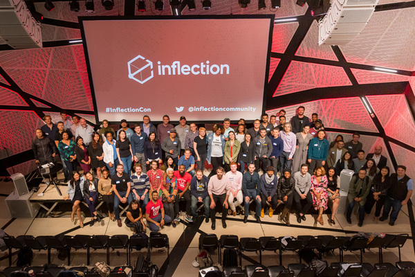 Some attendees from Day 1 of INFLECTION Con 2