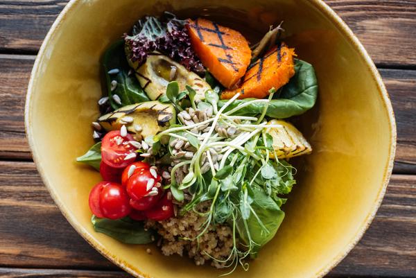 Thaise groente salade