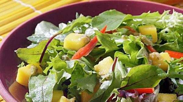 Thaise mango salade