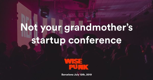 Join the startup conference that breaks all the rules & learn from the brains behind Typeform, Glovo, Fintonic & more