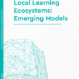 [Long read] Local Learning Ecosystems: Emerging Models