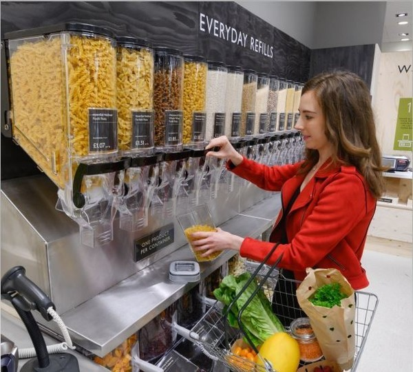 UK supermarket is going refillable to save planet & shoppers money