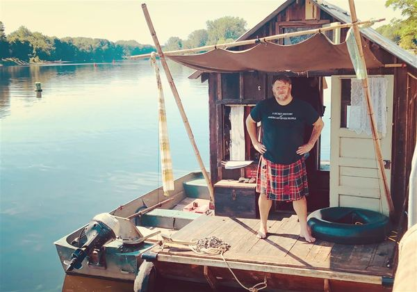 California artist will capture life on the Ohio River in a homemade shantyboat | Pittsburgh Post-Gazette
