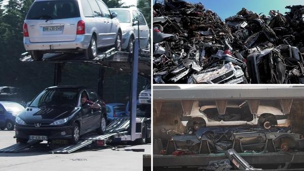Recyclage de nos véhicules en fin de vie - Dit gebeurt er met onze auto's wanneer ze het loodje leggen