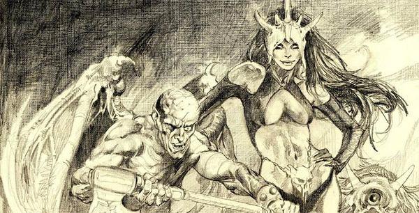 Esteban Maroto - Fantasy Illustration