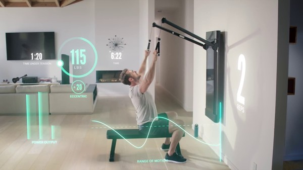 At-home workout is commoditizing one-on-one training (Image credit: Tonal)