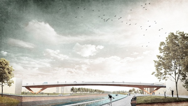 Avant-projet du nouveau pont de la Lys à Menin - Voorontwerpen klaar voor nieuwe Leiebrug in Menen
