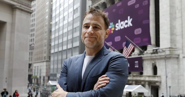 Business chat platform Slack went public yesterday