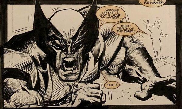 Mark Texeira - Wolverine Original Comic Art