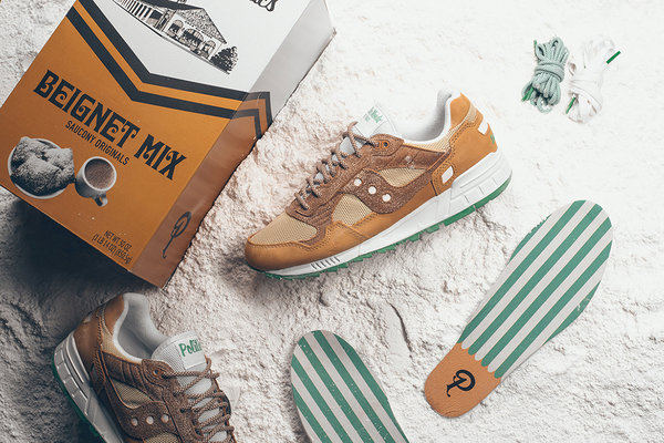 I Donut *Not* Want These Cafe Du Monde Beignet-Inspired Sneakers
