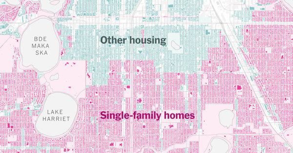Cities start to regret single-family zoning