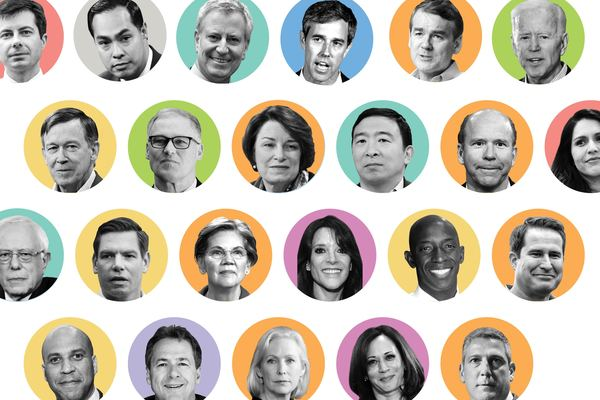 Which issues Democratic presidential candidates are talking about on Twitter, Facebook and Instagram