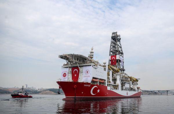Turks schip op weg naar Cyprus om naar gas te boren