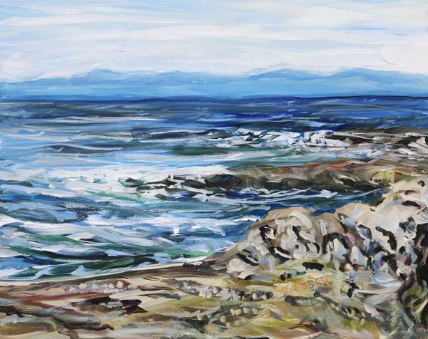 Restless Salish Sea by Terrill Welch