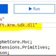 Why are my CRM SDK Assembly references in Azure functions throwing error? How do I refer my custom assemblies which are not in Nuget?