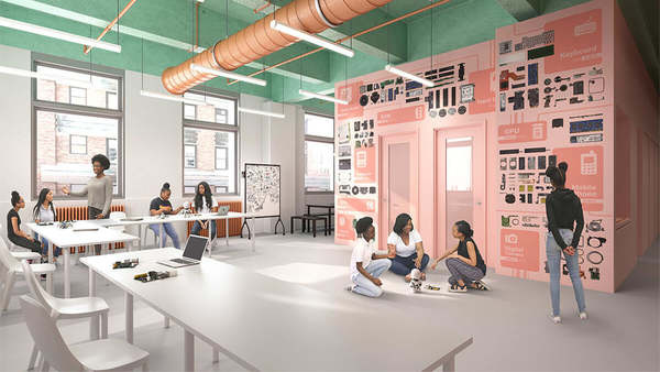 Black Girls Code has a new lab inside Google's New York office