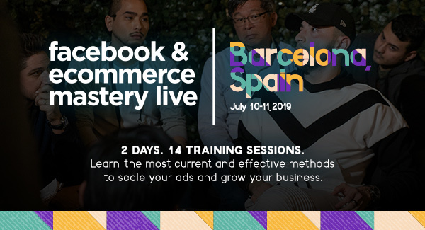 Learn the latest growth hacking secrets to scale your ads & grow your business! Save 25% on your 2-day pass with the code: barcinno25