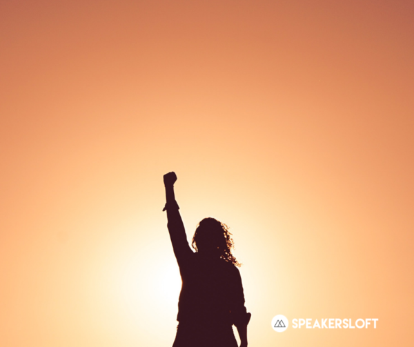 If women speakers make more, all speakers win.