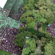 How Big Was Sunday's Protest in Hong Kong? These Aerial Images Show You