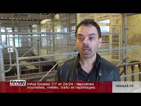 L'office de tourisme de Roubaix fait peau neuve - Toeristische dienst van Roubaix in nieuw kleedje