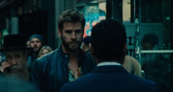 Liam Hemsworth als slechterik in trailer indiefilm Killerman - WANT