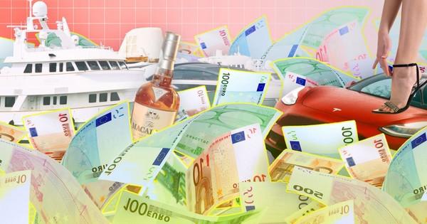 Één miljoen euro maakt maar een klein beetje gelukkiger