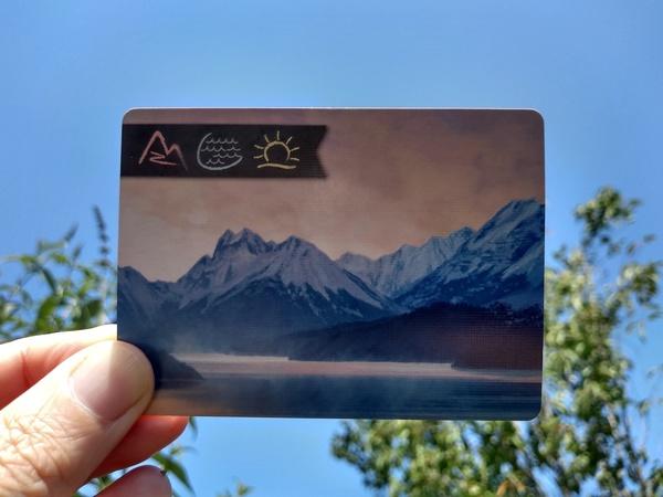 Speelkaart uit het spel Sunset over Water.