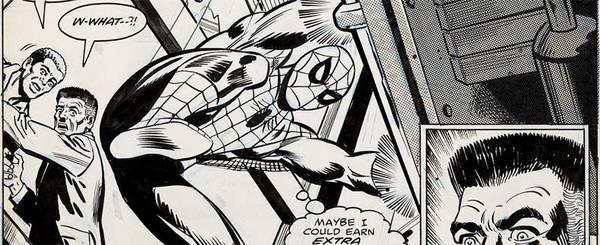 Jim Mooney - Spider-Man Original Comic Art