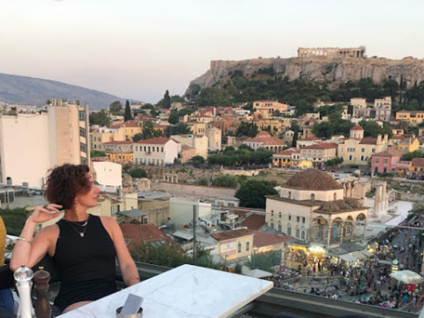 Here's loyal reader and VIP member Abby, contemplating the joys of life, as she gazes out at the Acropolis in Athens. You too can enjoy the perks of being a member of The Highlighter. hltr.co/membership