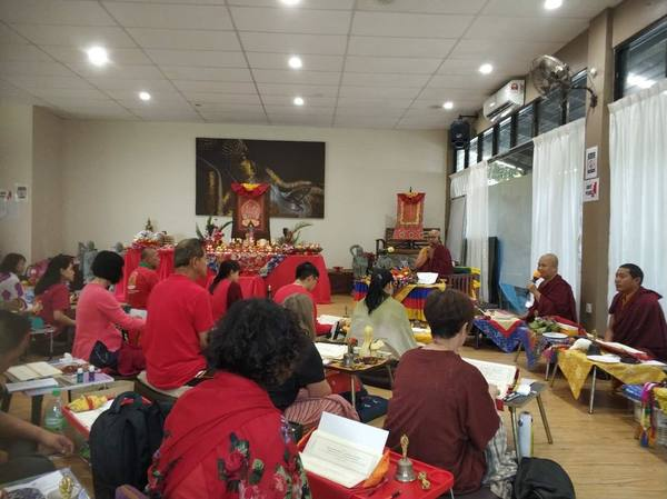 Kurukulle Retreat in Penang with Drupla Sherab Dorje