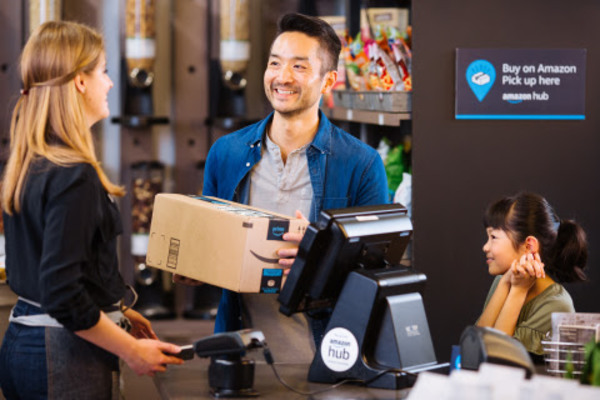 Amazon partners with Rite Aid for new in-store package pickup option, expanding logistics network