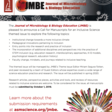 JMBE is planning a themed issue on Inclusive Science.
