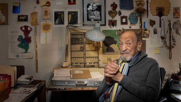 1. Happy 90th birthday, Milton Glaser.