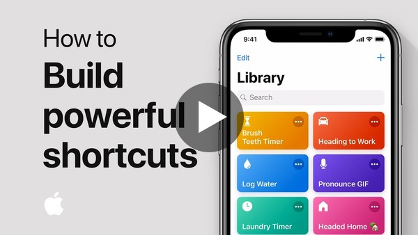 How to build powerful shortcuts on your iPhone, iPad, or iPod touch — Apple Support