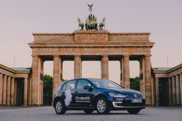 Volkswagen launches WeShare all-electric car sharing service