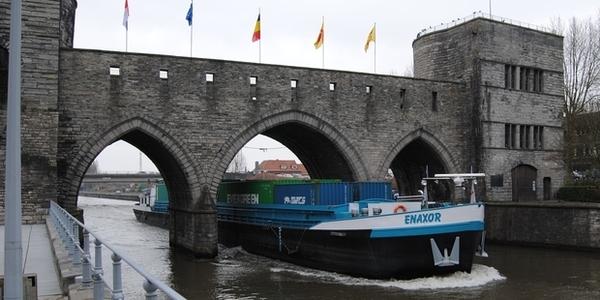 Pont des Trous à Tournai : Le permis d'urbanisme est délivré - Afbraak bogen eind juli