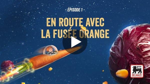 Épisode 1 - En Route avec la Fusée Orange