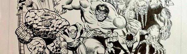 Sal Buscema - Marvel Universe Original Comic Art