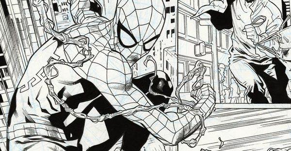 Stuart Immonen - Spider-Man Original Comic Art