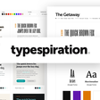 Typespiration A showcase of web typography designs with ready-to-use CSS codes.
