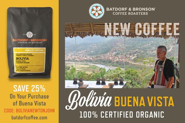Organic Bolivia Buena Vista | batdorfcoffee