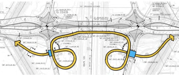 Central Valley to Get a Diverging Diamond Interchange – Streetsblog California